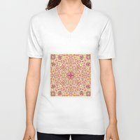poem V-neck T-shirts featuring Poem by Ingrid Padilla