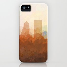 Jacksonville, Florida Skyline - In the Clouds iPhone Case
