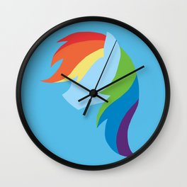 Rainbow Dash Wall Clock