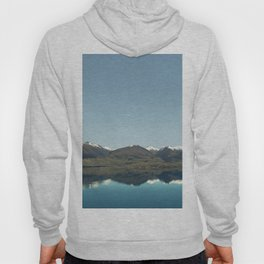 Blue reflections of mountains Hoody