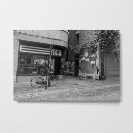 A Pause in Time - Brussels, Belgium Metal Print