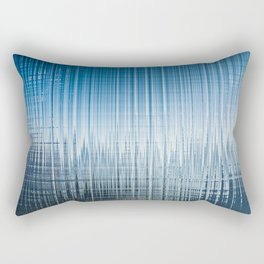 blue water effect Rectangular Pillow
