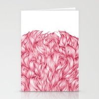 beard Stationery Cards featuring Beard. by Raquel  Carrero .