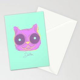 Cat thoughts Stationery Cards