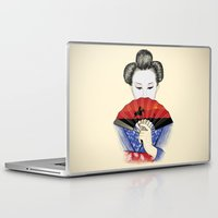 western Laptop & iPad Skins featuring Western Innocence by Yuri Lobo