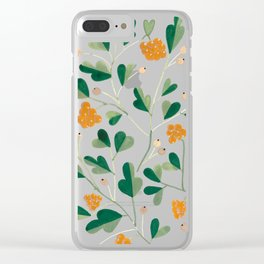 Cloudberries Clear iPhone Case
