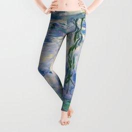 "Claude Monet ""Water Lilies(Nymphéas)"" (9) 1916–19.jpg Leggings"