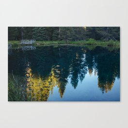 Little Crater Lake 2 Canvas Print