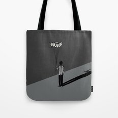 The Black Balloon Tote Bag