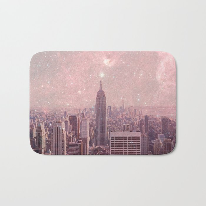 Stardust Covering New York Bath Mat