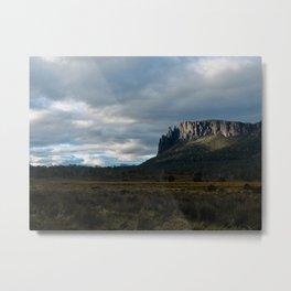 Mount Oakley Sunset Metal Print