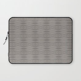 Elegant Gray Geometric Southwestern Pattern - Luxury Laptop Sleeve