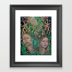 Thanks for Choosing Us Framed Art Print