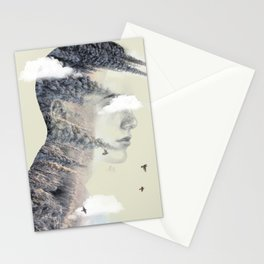 Head Strong Stationery Cards