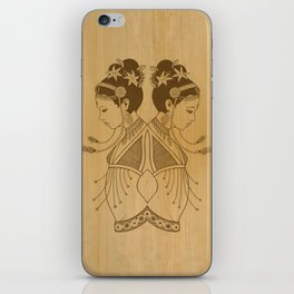 Reflected Dancers iPhone Skin