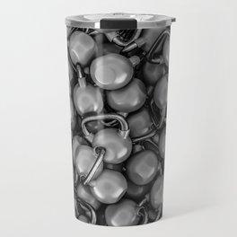 Kettlebells B&W Travel Mug