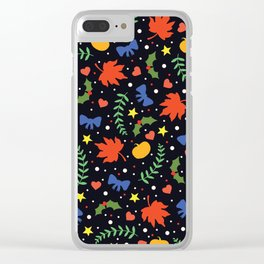 Holiday Season Clear iPhone Case
