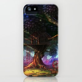 Tree house iPhone Case