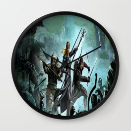 fighters lord of the ring Wall Clock