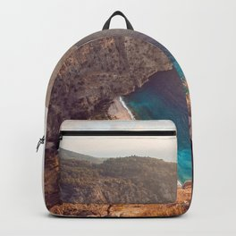 Paradise Water and Sunrise (Color) Backpack