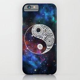Galaxy Yin Yang iPhone Case