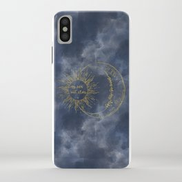 Gold Moon of My Life. My Sun and Stars iPhone Case