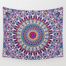 Fantasy Flower Garden Mandala Wall Tapestry