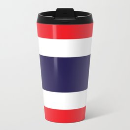 Flag of Thailand Travel Mug