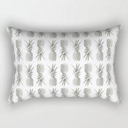 Pineapple Photography Print | Minimalism | Tropical Pattern Rectangular Pillow