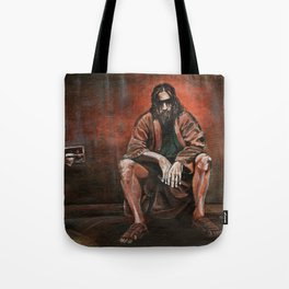 """The Dude, """"You pissed on my rug!"""" Tote Bag"""