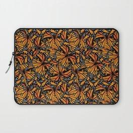 Monarch Butterflies Pattern   Butterfly Pattern   Laptop Sleeve
