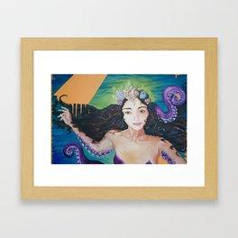 Ursula Framed Art Print