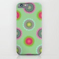 transparent floral pattern 4 Slim Case iPhone 6s