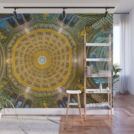 Mandala Architecture (Color) Wall Mural