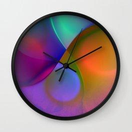 crossing colors -b- Wall Clock