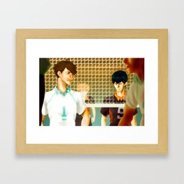 Aoba Johsai Showdown Framed Art Print
