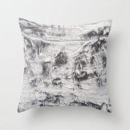 SHRED Throw Pillow