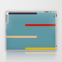 Abstract Retro Stripes Miranda Laptop & iPad Skin
