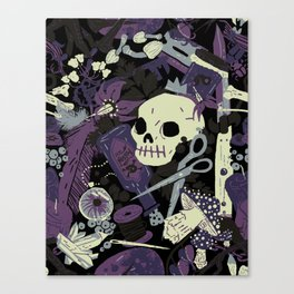 Witchy (Poisonous Variant) Canvas Print