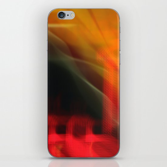 Abstract Colour Canvas (iPhone Cover) iPhone & iPod Skin