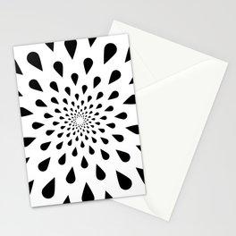 Trance Teardrops Stationery Cards