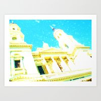 A Building to be Discovered Art Print