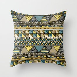 'Georganic no.10' Throw Pillow