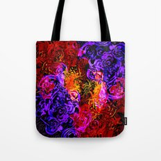 Fire Works Tote Bag