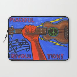 Ukes For Peace Laptop Sleeve