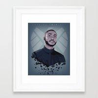 trip Framed Art Prints featuring TRIP by Arne AKA Ratscape