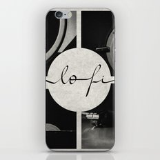 Lo-Fi // Analog Zine iPhone & iPod Skin