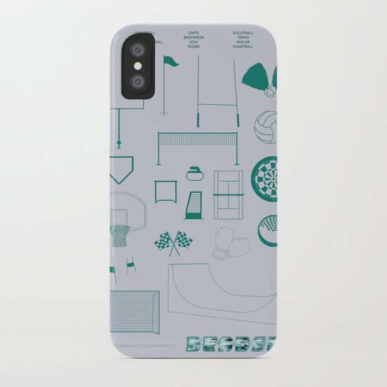 Essence Of Deadspin iPhone Case
