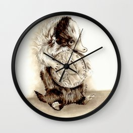 Baby niffler Wall Clock
