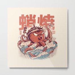 Takoyaki Attack Metal Print